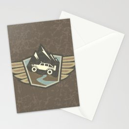 4x4 Offroad Adventure Stationery Cards