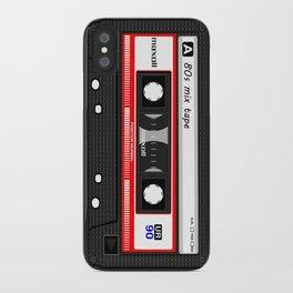 1980's Mix Tape Cassette iPhone Case