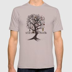 Shoe Tree Mens Fitted Tee SMALL Cinder