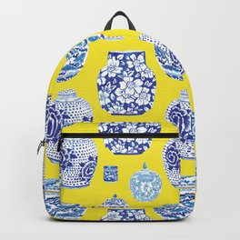 Chinoiserie Ginger Jar Collection No.2 Backpack