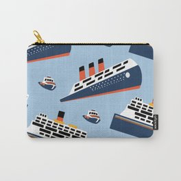 Ferryboat Scrub Caps Carry-All Pouch