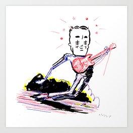 TILT! Art Print