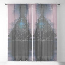 Energy Influx Sheer Curtain