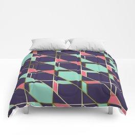 Ultra Deco 2 #society6 #ultraviolet #artdeco Comforters