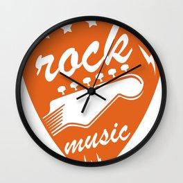 Hard Rock Musik Punk Grunge Geschenk Shirt Cooles Shirt Wall Clock