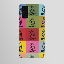 HAPPY SQUARES Android Case