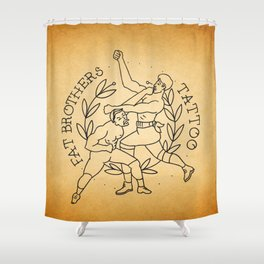 The Fighters Shower Curtain