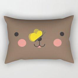 Little teddy bear Rectangular Pillow