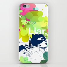 liar iPhone & iPod Skin