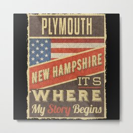 Plymouth New Hampshire Metal Print