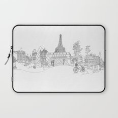 Paris! Version#1 Laptop Sleeve