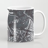snatch Mugs featuring All Hallow's Eve', upside down by ABBY SNATCH