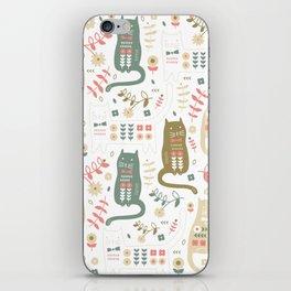 Cat Folk iPhone Skin