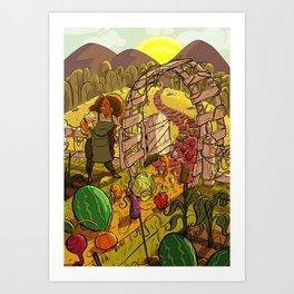 Fully Grown Art Print