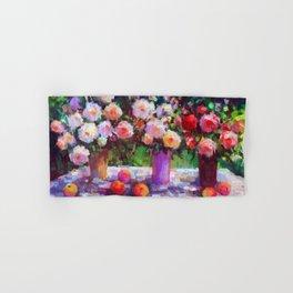 Summer Roses Hand & Bath Towel