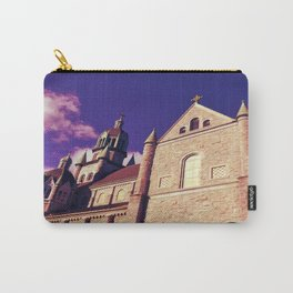 St. Mary & Archangel Michael Church in Violet Carry-All Pouch