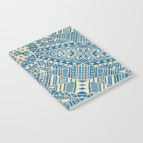 Tribal (blue)  Notebook