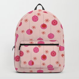 Christmas ornament pattern Backpack
