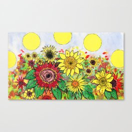 Solar Tracking Canvas Print