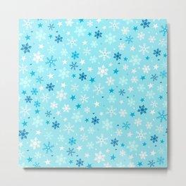 Let it snow! Metal Print