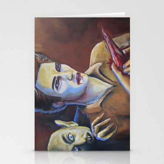The Assassination of Edward Cullen by the Coward Nosferatu Stationery Cards