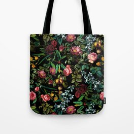 Floral Jungle Tote Bag