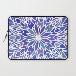 Mandala Vivid Blue Laptop Sleeve