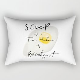 Breakfast / poster, art print, pictures, scandinavian, nursery, deco, saying, christmas, sarcasm, eg Rectangular Pillow