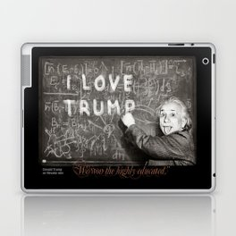 "Donald Trump on Nevada win: ""We won the highly educated."" Laptop & iPad Skin"