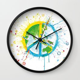 Peaceful World Wall Clock