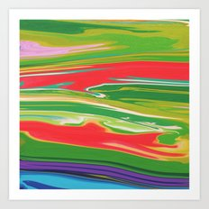 Summer Grass Art Print