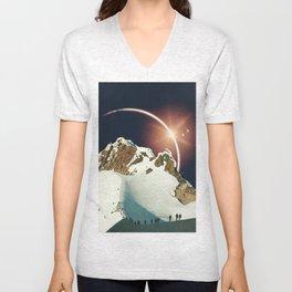 In Eclipse Unisex V-Neck