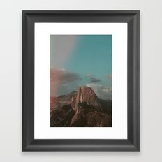 Yosemite Half Dome Framed Art Print