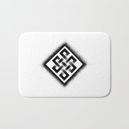Endless Knot Bath Mat