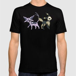 Espeon & Umbreon Anatomy T-shirt
