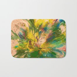 Springtime Color Explosion Bath Mat