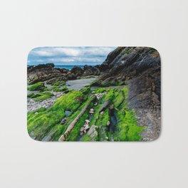 Green beach Bath Mat