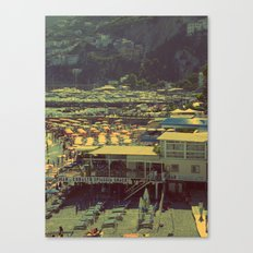 Beach in Amalfi, Italy Canvas Print