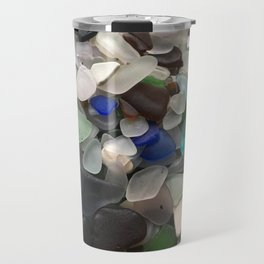 Sea Glass Assortment 1 Travel Mug