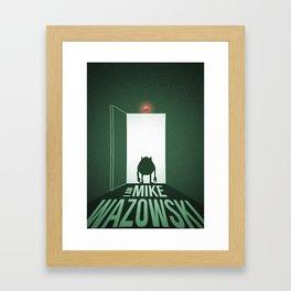 I Am Mike Wazowski Framed Art Print