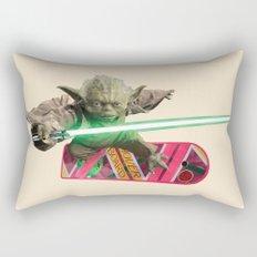 Hover Yoda Rectangular Pillow