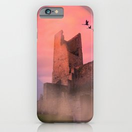Castle in the evening iPhone Case