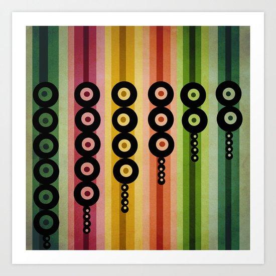 door beads Art Print