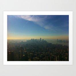 new york, new york  Art Print