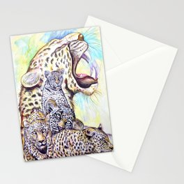 Lion Lion Lion Stationery Cards