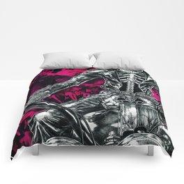 Skull rider Comforters