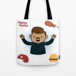 Ron Swanson - Parks and Recreation Tote Bag