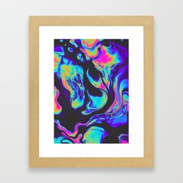 OUT OF THE GAME Framed Art Print