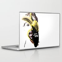 miley cyrus Laptop & iPad Skins featuring Miley Cyrus  by franziskooo