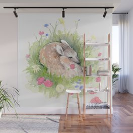 Little Fawn Wall Mural